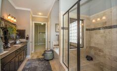 Master Bath, Cinco Ranch: Patio Homes Champions Collection By Our Village  Builders Brand