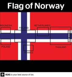Flag of Norway  Nailed it!