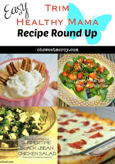 Easy Trim Healthy Mama Recipe Round Up   Oh Sweet Mercy #recipes #THM #ohsweetmercy