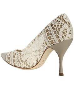 Lace heels!