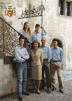 Hans-Adam II, Prince of Liechtenstein and the Royal Family