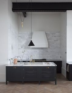UK design company Plain English's bespoke kitchens are now available in the US | Remodelista