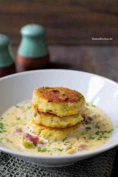 Knusprige Kartoffel-FetaPuffer