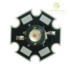 3W High Power LED -     3W High Power LED, White/Warm White/Cold White/Pink, Red/Yellow/Orange/Blue/Green/RGB, Infrared(IR) 850nm/940nm, Cyan, UV 360-370nm/380-385nm/395-405nm,                                                              $1.50    : 3W High Power LED