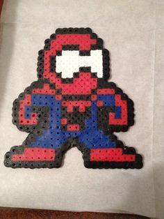 Spiderman Perler Bead by ThePinkTurtleLady on Etsy, $4.00