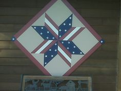 barn quilts | Quiltwhinny Trails: Here's our Barn Quilt. Thanks, Julie!