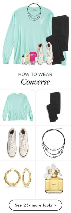 """""""really bummed that schools cancelled again tomorrow"""" by preppinitup on Polyvore featuring Madewell, Converse, Bling Jewelry, Majorica, Marc Jacobs, Lilly Pulitzer, women's clothing, women's fashion, women and female"""