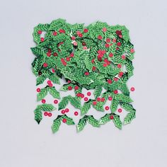 Holly and Berries Table Confetti