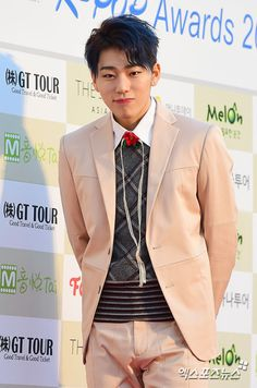 Although Zico with blond hair is , Zico with black hair is just  || Block B