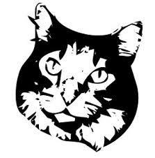 Bildergebnis für stencil cat