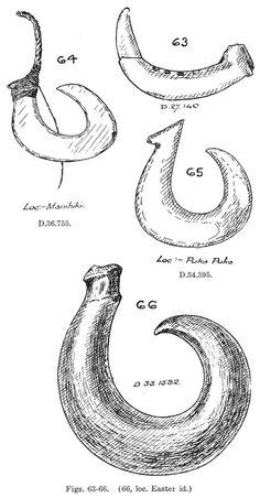OluKai's mark. The Makau, or bone hook, is the traditional