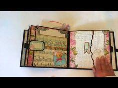Primrose 8 x 8 Premade Mini Album - YouTube