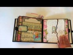 Primrose 8 x 8 Premade Mini Album - YouTube