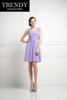 d564c3f53c Trendy Collection. Short Bridesmaid DressesLavender ...