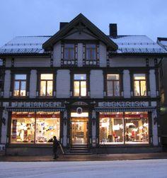 Inviting windows, Norway