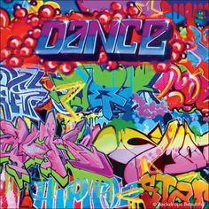 Backdrops: Dance 15 Graffiti