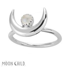 Image of Moon Goddess ring (Sterling Silver)