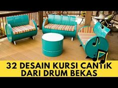 32 beautiful Chair Design from former drums Drum Lessons, Lessons Learned, Girl Drummer, Grow Home, Outdoor Furniture Sets, Outdoor Decor, Youtube, Aquaponics, Collage Sheet