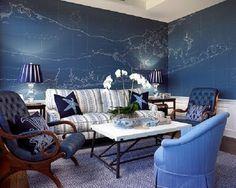 Bromeliad: My DIY: Big Long Island map collage - Fashion and home decor DIY and inspiration