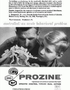 Prozine advertisement, 1960. Psychosomatic Medicine, Vol. 22, No. 2.  controlled: an acute behavioral problem