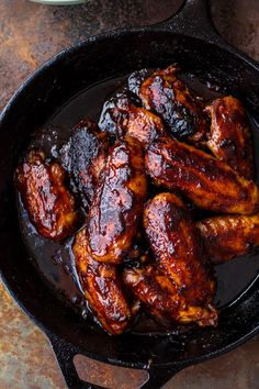 These hot wings are an easy meal both family and guests will love to help get fired up for Sunday or Monday night football. Find them @ halfbakedharvest.com