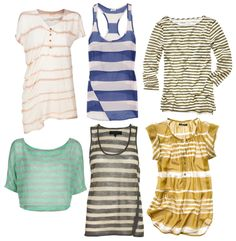 Remember when your mother told you horizontal stripes made you look wider? She lied.