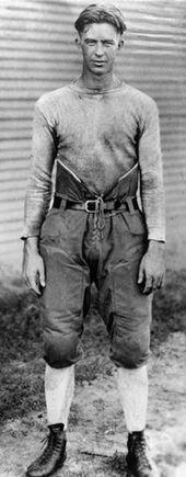 Texas A's E. King Gill during the 1921-1922 season, the original Twelfth Man