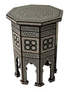 (http://www.ekenoz.com/moroccan-table/egyptian-mother-of-pearl-mosaic-inlay-wood-coffee-table/)