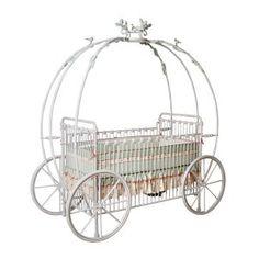 Princess Coach Iron Crib, Pumpkin Crib