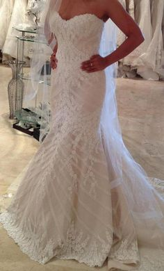 Matthew Christopher Sofia This Dress For A Fraction Of The Salon Price On Preownedweddingdresses