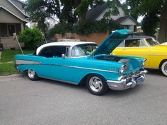 1957 Chevy....Re-pin...Brought to you by #CarInsurance at #HouseofInsurance in Eugene, Oregon
