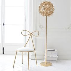 The Emily & Meritt Wishweed Floor Lamp #pbteen