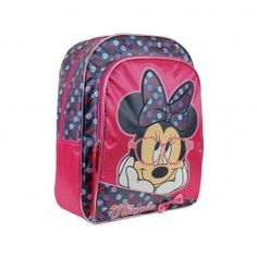 Mochila Escolar Minnie Think in Love