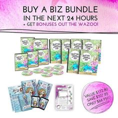 Exciting news! Leonie Dawson is holding a 24 HOUR FLASH SALE!!! If you buy the Biz Bundle of the 2016 workbook collection in the next 24 hours Leonie & Team LDI going to do something they've NEVER done before!  Youll get Leonie's most requested business e-course FREE with it (worth $79!!!!!!!!!) If you were 'on the fence' about this NOW is the time to snap this up! Be quick I wouldn't want you to miss out.  EXTRA BONUS! THE PRINTABLE PDF OF THE SOLD OUT TO DO LIST PAD!  You will ALSO get the…