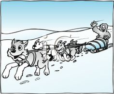 Free Cartoon Sled Cliparts, Download Free Clip Art, Free Clip Art on Clipart  Library