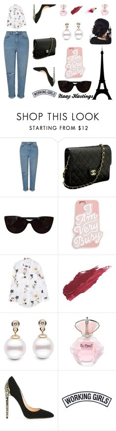 """""""Girl boss"""" by bronzedout on Polyvore featuring Miss Selfridge, Chanel, Tiffany & Co., ban.do, Equipment, Lily Lolo, Cerasella Milano, Working Girls, boss and Elegant"""