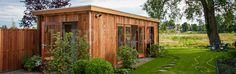 Werkruimte aan huis? Bouw een praktijkruimte in de tuin!