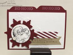 file folder cards   Christmas File Folder Card   Stamp,Paper & Glue!