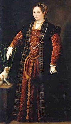 By Domenico Brusasorci also known as Domenico Ricci of Riccio Italian, Veronese, Mannerist High Renaissance Painter Renaissance Costume, Renaissance Fashion, Renaissance Clothing, Italian Renaissance, Historical Clothing, Female Clothing, Women's Clothing, 16th Century Clothing, 16th Century Fashion