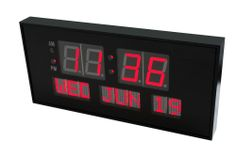 Digital LED Calendar Clock Wall Mount Watch Tabletop Clock Home Office Time Date #TIME