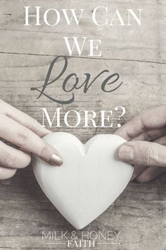 God gives us biblical instruction on how we are to love others in 1 Corinthians. Let's explore what God has to say about love.