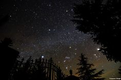 Orion Sirius and Jupiter js