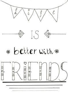 New quotes love friendship friends people 41 ideas New Quotes, Cute Quotes, Inspirational Quotes, Girl Quotes, Hand Lettering Quotes, Calligraphy Quotes, Lettering Ideas, Calligraphy Letters, Brush Lettering
