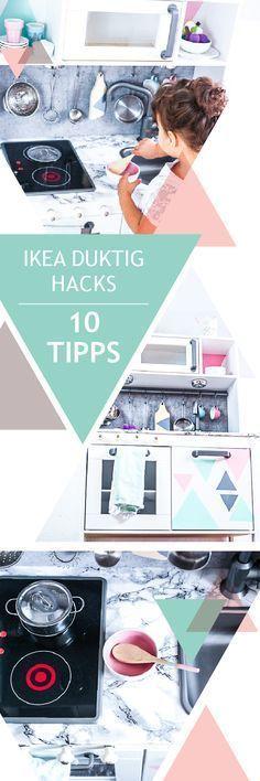 Ikea Duktig Hacks, 10 Tipps für deine DIY Kinderküche. Die absoluten Tricks für deine Spielküche. Ikea play kitchen makeover for kids
