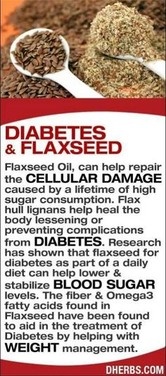 flax seed fights diabetes