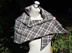 Plaid Scarf, Shopping, Fashion, Saving Money Jars, Upcycled Crafts, Moda, Fashion Styles, Fashion Illustrations