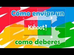 Cómo enviar un Kahoot como deberes - YouTube English Class, Learn English, Apps For Teachers, Flipped Classroom, Blended Learning, Google Classroom, Teaching, Activities, Education