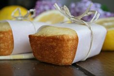 Mini Lemon Loaves. I used yogurt instead of sour cream and baked for almost 20 minutes. They are incredible. Zingy lemon flavor in a cakey mini-loaf with a touch of vanilla sweetness. Amazing recipe, can't wait to make this for guests. Light, cakey, and full of flavor. All 8 mini-loaves were devoured within 24 hours.