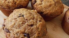 These muffins are packed with zucchini, chocolate chips, and walnuts and make a perfect on-the-go snack.