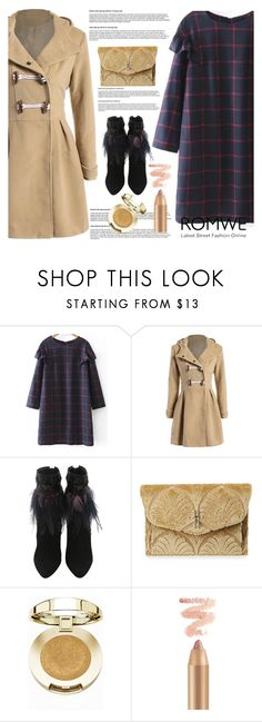 """""""Romwe"""" by dumspirospero-l ❤ liked on Polyvore featuring Hayward and Milani"""